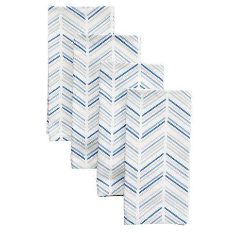 Celestial Modern Chevron Napkins, Set of 4