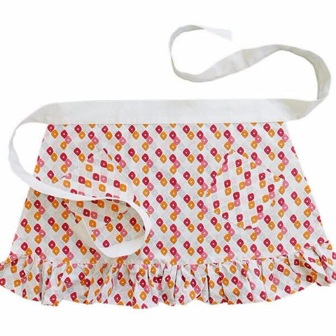 Pomegranate Candy Lattice Apron