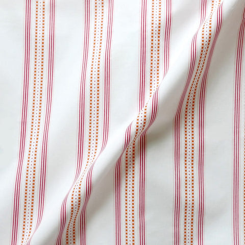 Pomegranate Ribbon Stripe Sheet Set