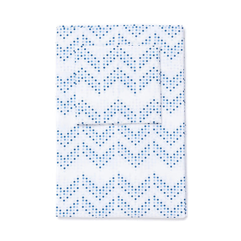 Oasis Dot Chevron Sheet Set