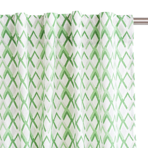 Grass Peaks Drapery Panels, Set of 2
