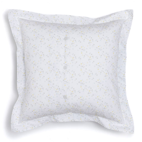Lemon Confetti Euro Shams, Set of 2