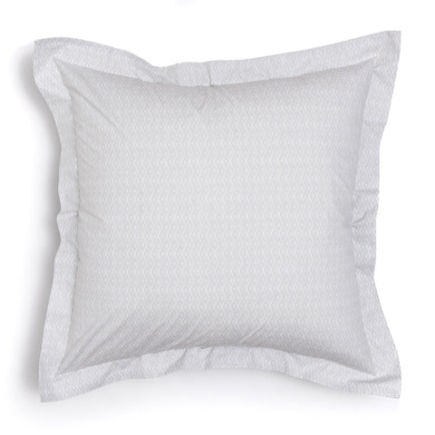 Pebble Criscross Euro Shams, Set of 2