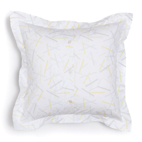 Lemon Pickupstix Euro Shams, Set of 2