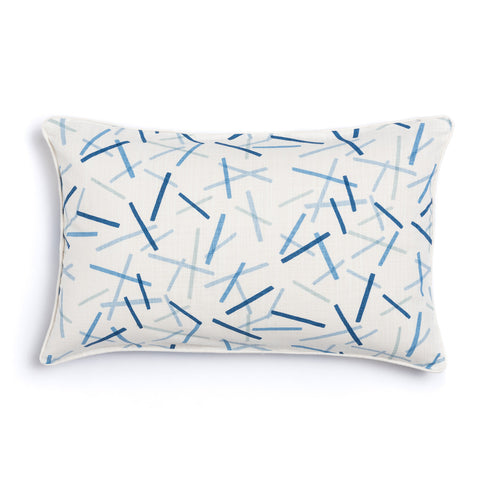 "Oasis 16"" x 26"" Honeycomb + Pickupstix Reversible Accent Pillow"