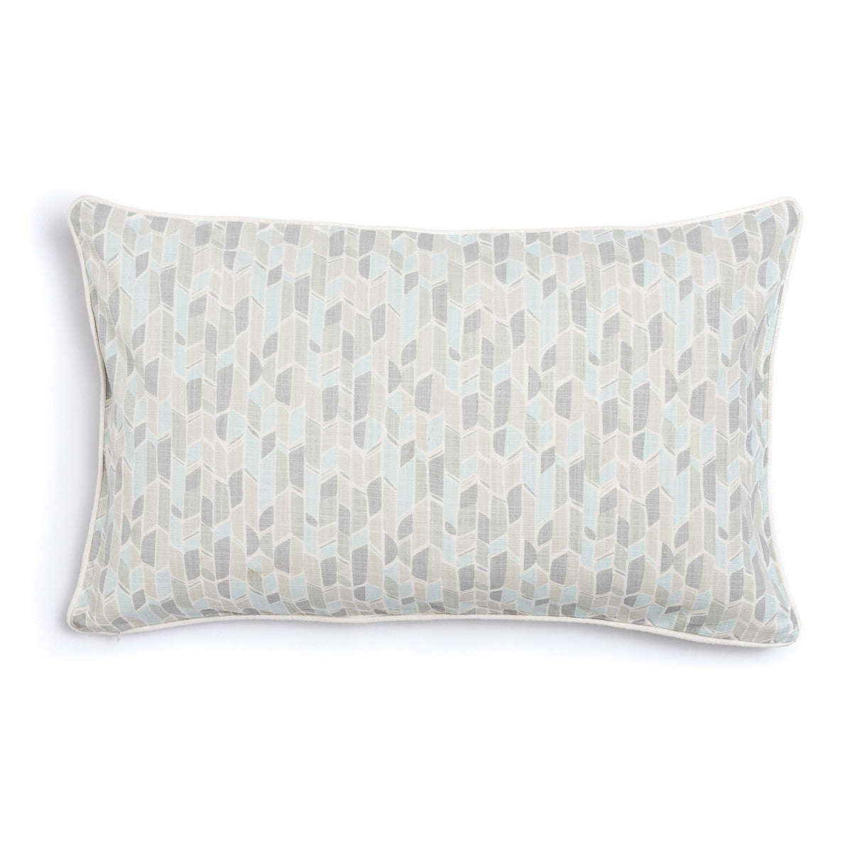 "Pebble 16"" x 26"" Bamboo + Fans Reversible Accent Pillow"