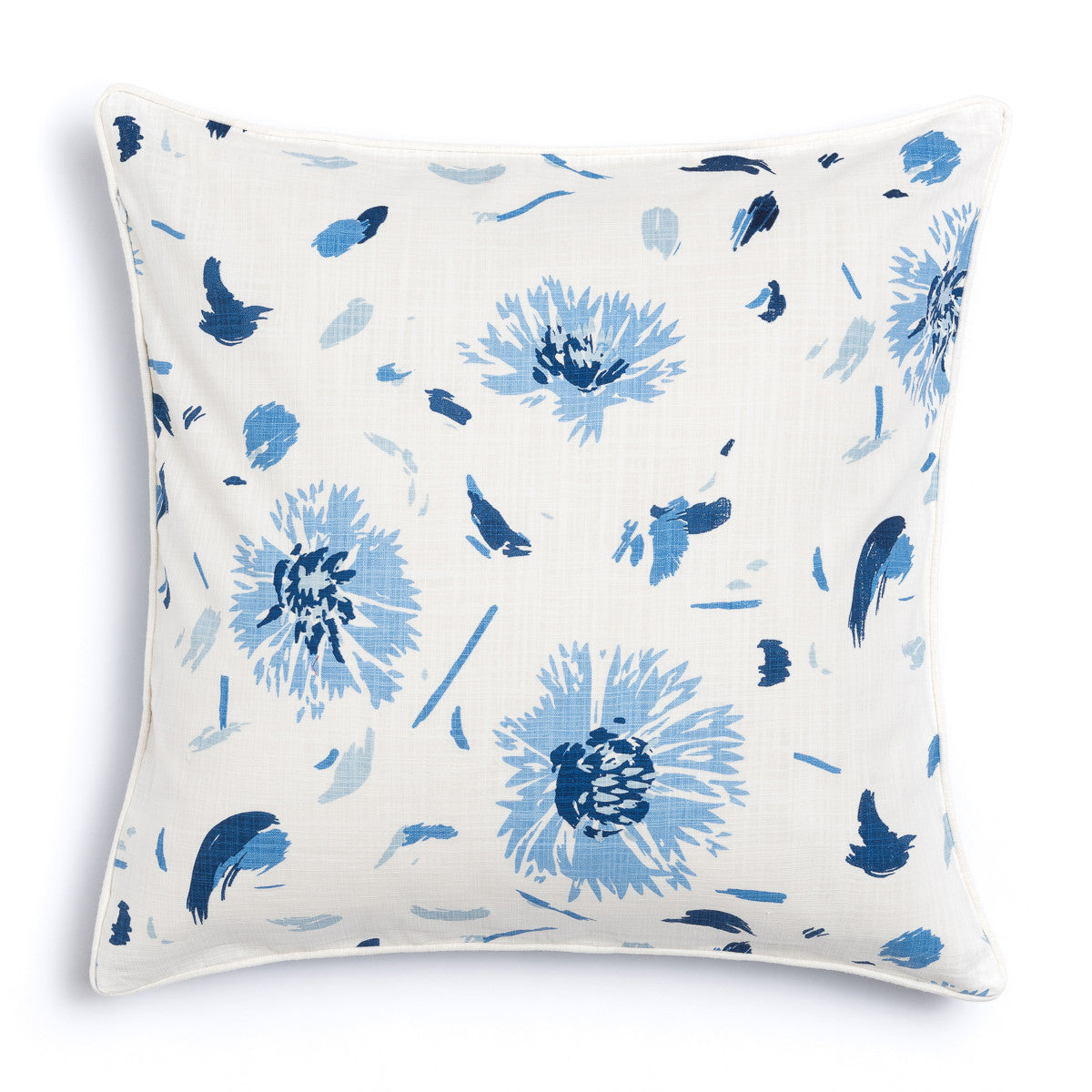 "Oasis 20"" x 20"" Bamboo + Wildflower Reversible Accent Pillow"