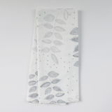 Birch Etched Leaf Tea Towels, Set of 2