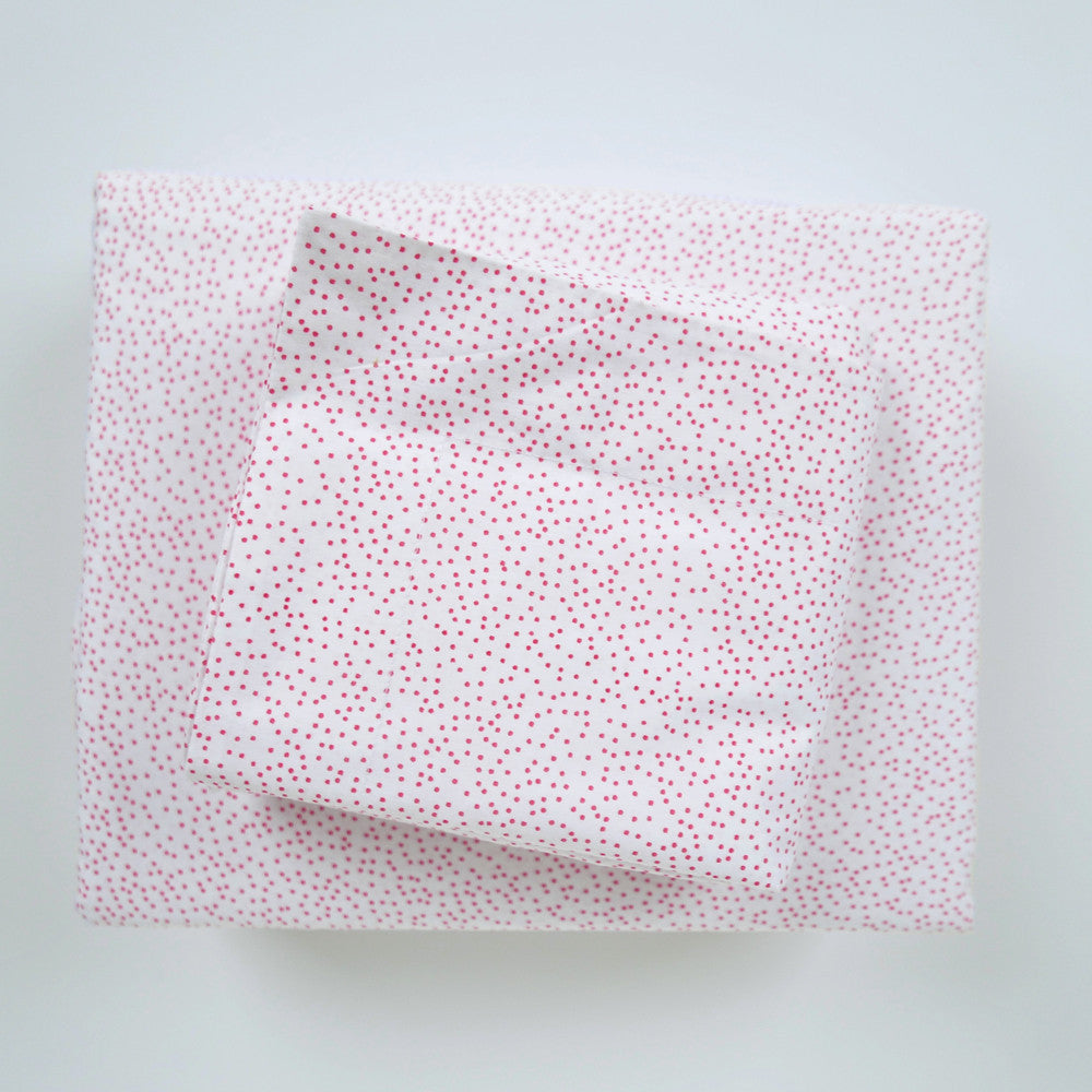 Pomegranate Sprinkles Duvet Cover + Sham Set