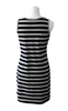Black/Gray Striped Tank Nursing Dress & Crop Top - Latched on Love  - 4