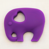 Elephant Teether - Purple - Latched on Love  - 1