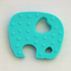 Elephant Teether - Turquoise - Latched on Love  - 2