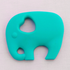 Elephant Teether - Turquoise - Latched on Love  - 1
