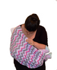 Infinity Nursing Scarf by Latched on Love- Pink Chevron - Latched on Love  - 3