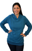 Latched on Love Cozy Nursing Hoodie- Blue - Latched on Love  - 1