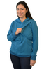 Latched on Love Cozy Nursing Hoodie- Blue - Latched on Love  - 3