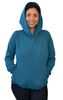 Latched on Love Cozy Nursing Hoodie- Blue - Latched on Love  - 4