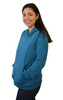 Latched on Love Cozy Nursing Hoodie- Blue - Latched on Love  - 2