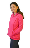 Latched on Love Cozy Nursing Hoodie- Pink - Latched on Love  - 2