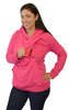 Latched on Love Cozy Nursing Hoodie- Pink - Latched on Love  - 3