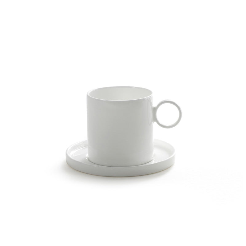 Coffee Mug with Saucer - S