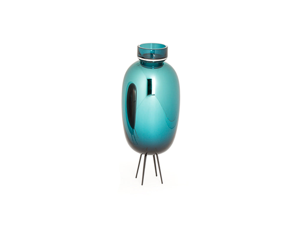 Vetroidi Tealight Candleholder - Medium - Emerald Green