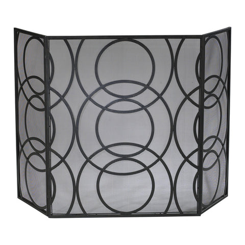 Orb Fire Screen - Chez Roulez - Floor and Fireplace Screens - Cyan Designs