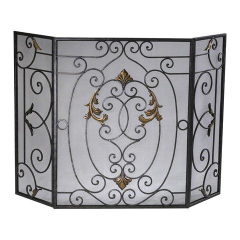 French Fire Screen - Chez Roulez - Floor and Fireplace Screens - Cyan Designs