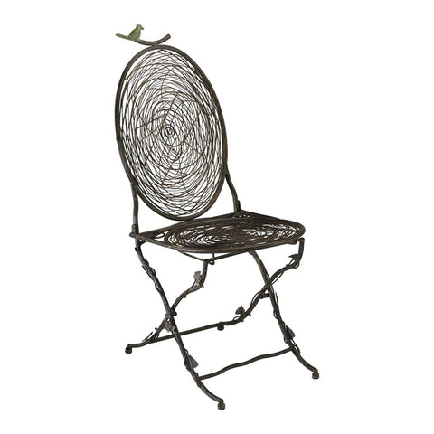 Bird Bistro Chair - Chez Roulez - Seating - Cyan Designs