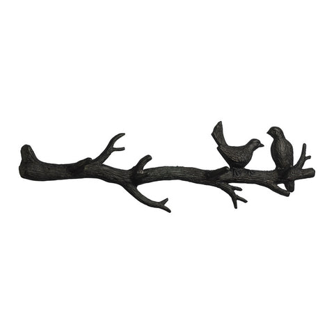 Bird Branch Coat Hook - Chez Roulez - Decorative Accents - Cyan Designs