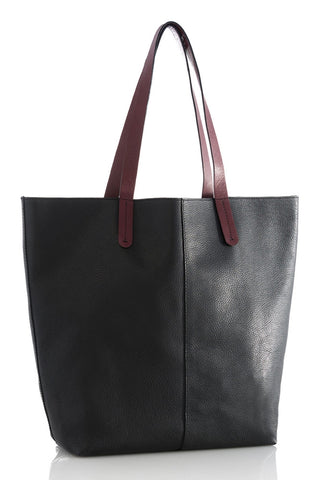 Chez Roulez - Bags and Accessories - Shiraleah - Preston Tote by Shiraleah - Black