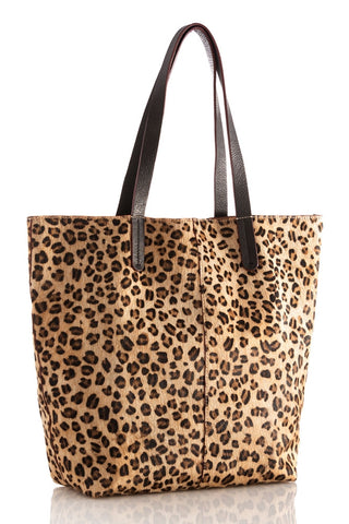 Preston Tote by Shiraleah - Leopard - Chez Roulez - Bags and Accessories - Shiraleah