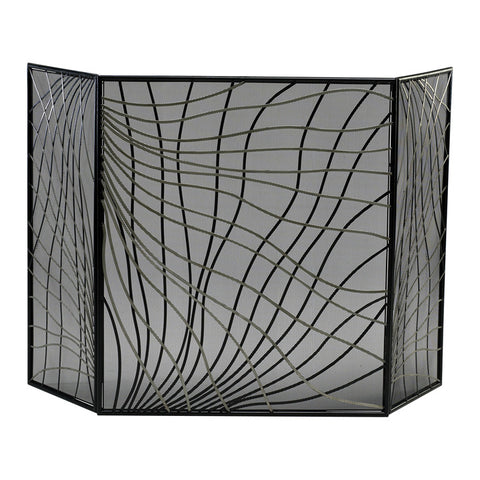 Finley Fire Screen - Chez Roulez - Floor and Fireplace Screens - Cyan Designs