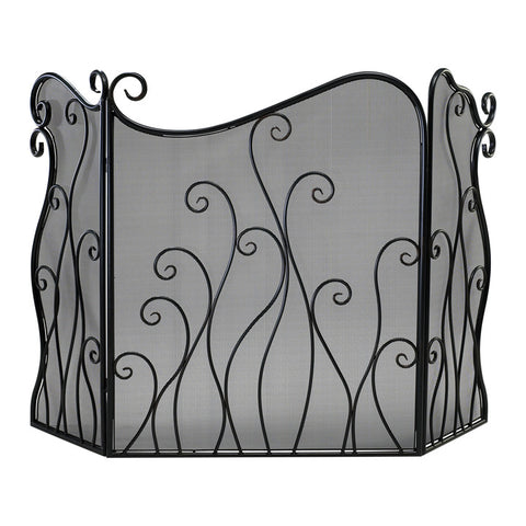Evalie Fire Screen - Chez Roulez - Floor and Fireplace Screens - Cyan Designs