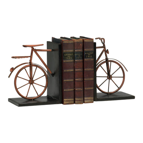 Bicycle Bookends - Set of 2 - Chez Roulez - Decorative Accents - Cyan Designs