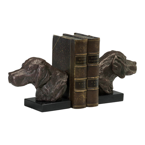 Hound Dog Bookends - Set of 2 - Chez Roulez - Decorative Accents - Cyan Designs