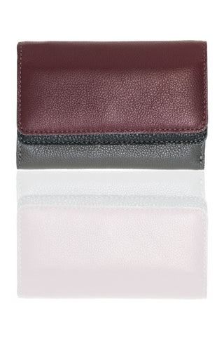 Chez Roulez - Bags and Accessories - Shiraleah - Preston Fold Wallet by Shiraleah - Multi - 1