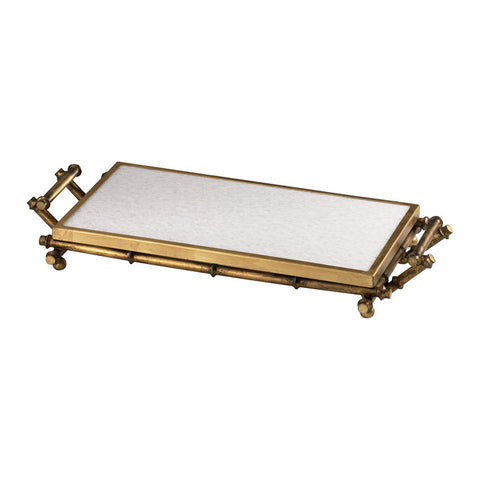 Bamboo Serving Tray - Chez Roulez - Containers and Trays - Cyan Designs