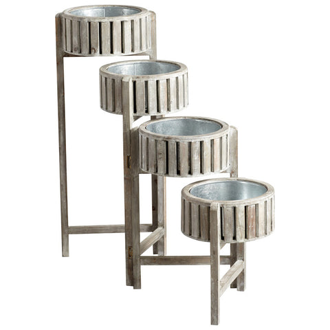 Cascade Screen Planter - Chez Roulez - Vases, Planters and Urns - Cyan Designs