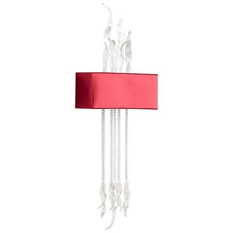 Islet Wall Sconce - Red - Chez Roulez - Lighting - Cyan Designs