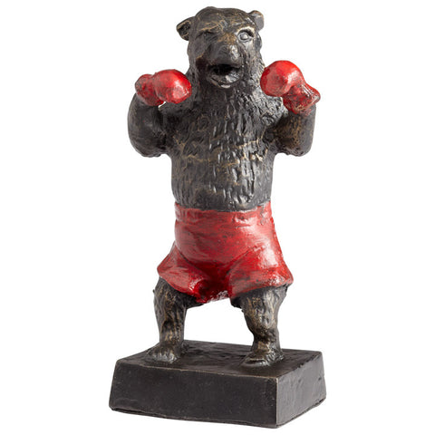 Bear Down Sculpture - Chez Roulez - Decorative Accents - Cyan Designs