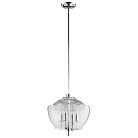 Empoli Four Light Pendant