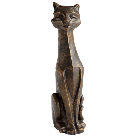 Eris Funny Cat Sculpture - Chez Roulez - Decorative Accents - Cyan Designs
