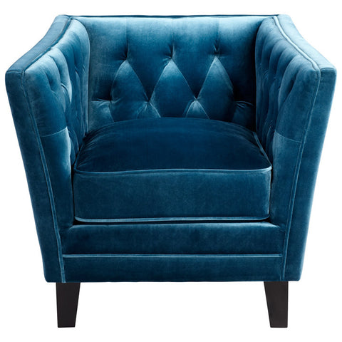Chez Roulez - Seating - Cyan Designs - Blue Prince Valiant Chair - 1