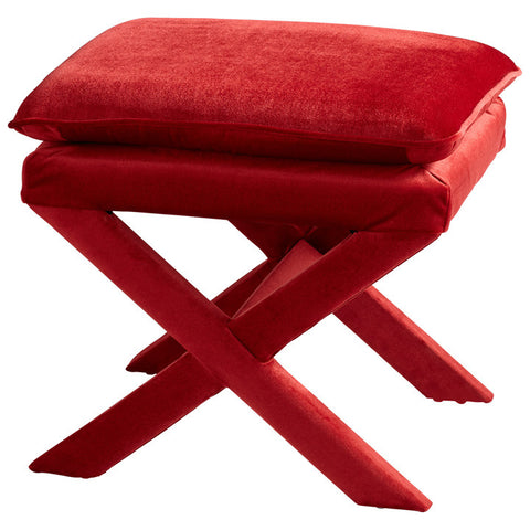 Chez Roulez - Seating - Cyan Designs - Otto Stool - Red
