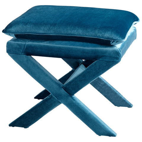 Chez Roulez - Seating - Cyan Designs - Otto Stool - Blue