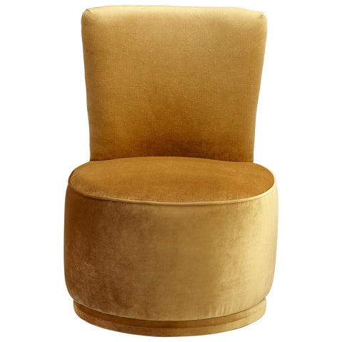 Chez Roulez - Seating - Cyan Designs - Apostrophe Chair - Gold - 1