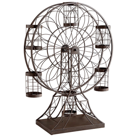 Ferris Wheel Wine Holder - Chez Roulez - Wine Holders and Decanters - Cyan Designs