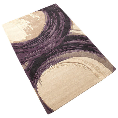 Chez Roulez - Rugs - Cyan Designs - Purple Percival Rug - 1