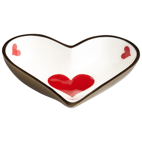 Heart Tray - Chez Roulez - Containers and Trays - Cyan Designs